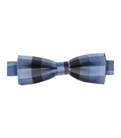Vlinderdas Blauw Ruit 193161200-100