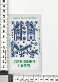 LABEL Designerlabel Navy 27 stuks