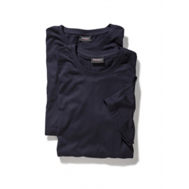 T-Shirt Navy 9301-01   4XLARGE DUO-PACK