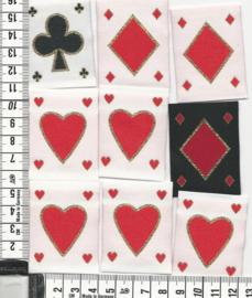 APPLICATIE Kaartsymbolen 9 stuks