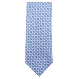 Stropdas Blauw Dessin 193300900-100