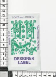 LABEL Designerlabel Groen 10 stuks