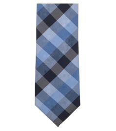 Stropdas Blauw Ruit 193161100-100