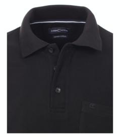 Polo Shirt Zwart Casa Moda 4370-800  mt.  49/50(4XL)