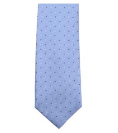 Stropdas Blauw Stip 193161900-100