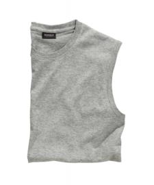Mouwloos T-Shirt Grijs (Licht)  9309-89 7XLARGE