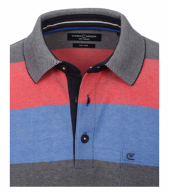 Polo Shirt Blauw/Roze 903339000-428 mt 53/54 (6XL)