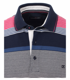 Polo Shirt Blauw/Roze 903441500-924 mt 51/52 (5XL)