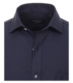 Blauw Stip (Donker) 383059900-100 mt 56 (7XL)