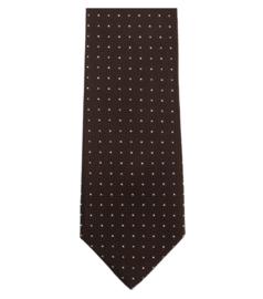 Stropdas Bruin Stip 193161900-200