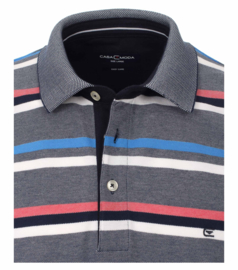 Polo Shirt Blauw/Roze 903443300-105 mt 51/52 (5XL)