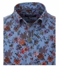 Blauw Floral 403487600-100  S t/m 7XLarge