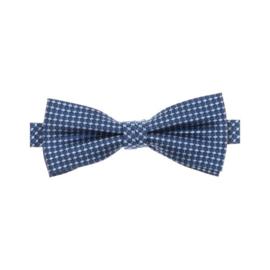 Vlinderdas Blauw Ruit 103407100-100
