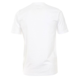 T-Shirt Wit Casa Moda 92180-0 mt. 4XLarge DUO-PACK