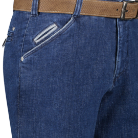 Wing Front 2130-3602 Blauw Stone Washed