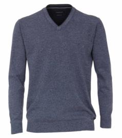 V-hals Trui Blauw (Jeans) 403490500-140 5XLARGE
