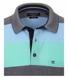 Polo Shirt Blauw/Mint 903339000-306 mt 53/54 (6XL)