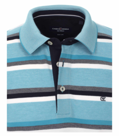 Polo Shirt Blauw/Aqua 903443300-174 mt 51/52 (5XL)