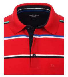 Polo Shirt Rood 903338900-427 mt 5/54 (6XL)