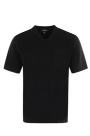 V-hals T-Shirt Zwart 20003/4/100 6XLARGE