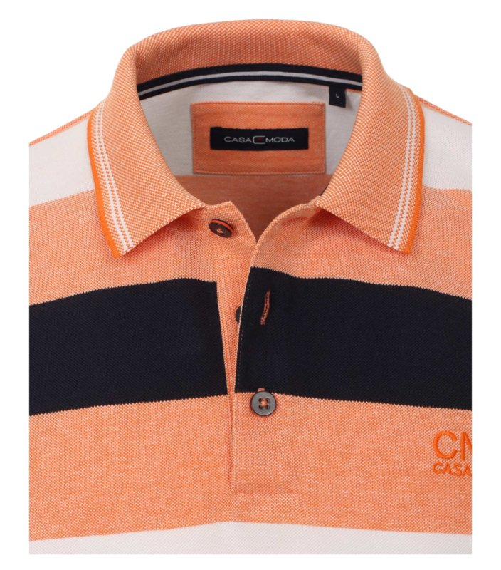 Polo Shirt Zalm/Blauw 903442400-469 mt 51/52 (5XL)