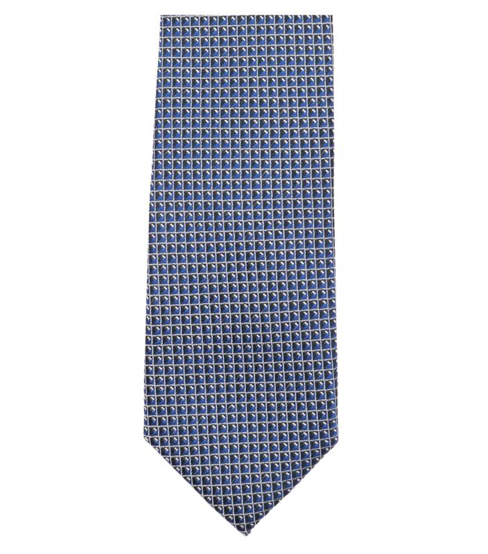 Stropdas Blauw Dessin 193301000-101