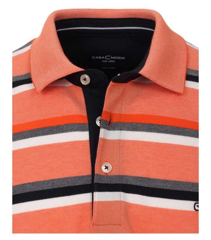 Polo Shirt Zalm/Blauw 903443300-454 mt 51/52 (5XL)