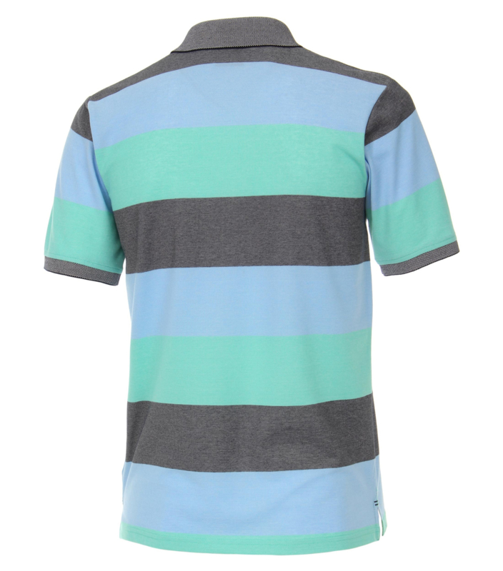 Polo Shirt Blauw/Mint 903339000-306 mt 53/54 (6XL)