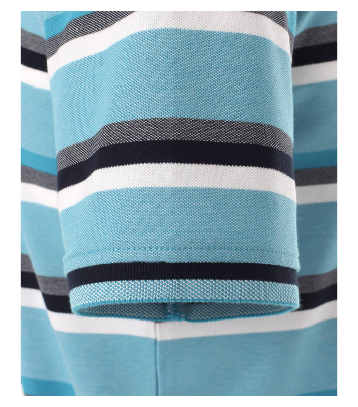 Polo Shirt Aqua/Blauw 903443300-174 mt 51/52 (5XL)
