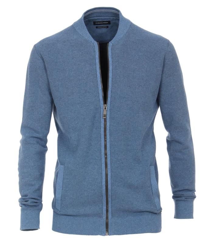 Rits Vest Blauw (Jeans) 403469800-127 5XLARGE