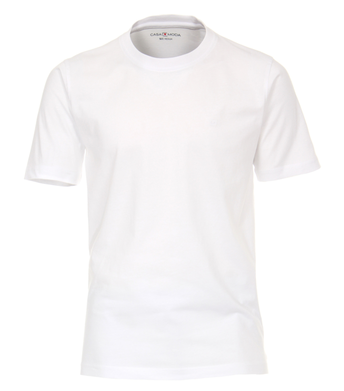 T-Shirt Wit 92500-0 S t/m 6XLARGE  DUO-PACK