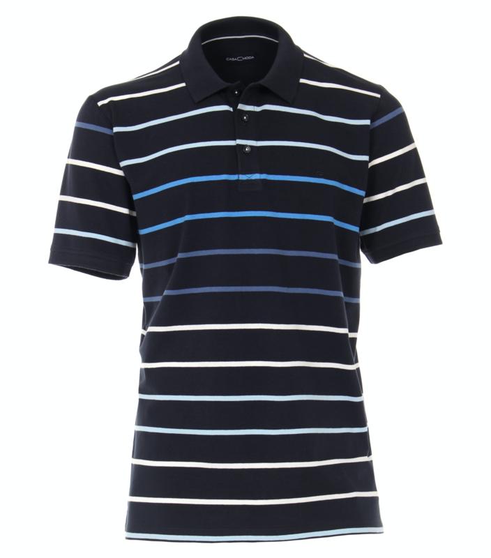 Polo Shirt Blauw 903441600-105 mt 51/52 (5XL)