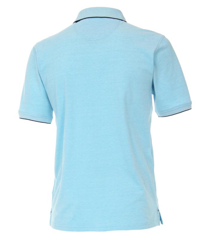 Polo Shirt Blauw (Licht) 903444200-123 mt 51/52 (5XL)