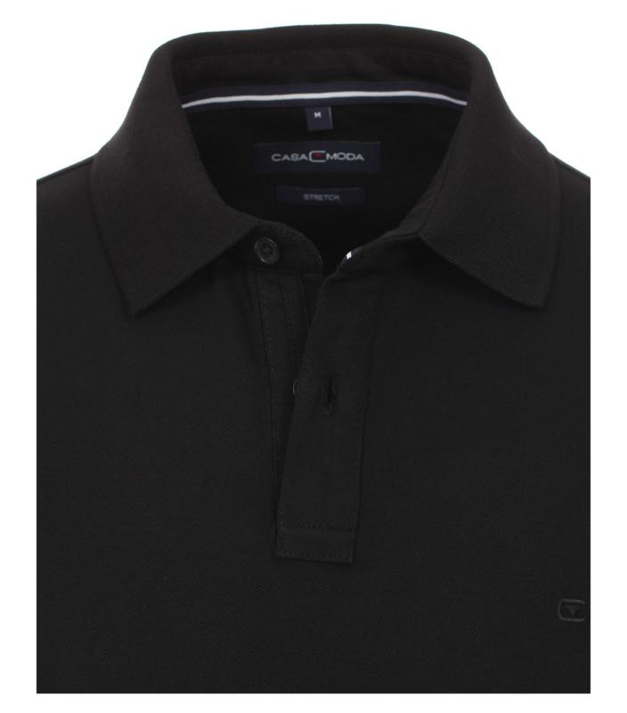 Polo Shirt Zwart 4470-800 mt 53/54 (6XL)