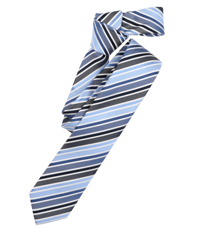 Stropdas Blauw Streep 1070-100