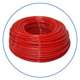 Tuyau pour osmoseur de couleur rouge 1/4.