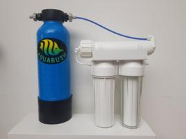 Osmosetoestel Rush  Osmo 100 standaard 380 liter/dag + Harstank 5 Liter Mixbed ( optie : filmtec membraam)