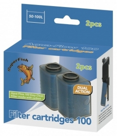 2 Cartouches De Rechange Easy Click - Pour AquaFlow 100 - (Superfish)