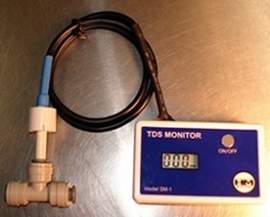 HM SM-1: In-Line Single TDS Monitor  ( lage verzendingskost ! )