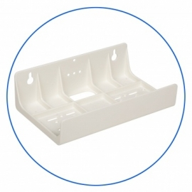 "Support 2 porte filtre 10 "" plastique"