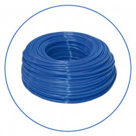 Tuyau pour osmoseur de couleur bleu 1/4.