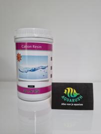 Cation resin  1 liter