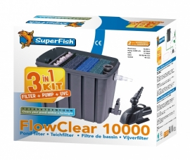Superfish Flowclear 10.000 Kit