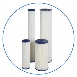 """Uitwasbaar sedimentfilter voor 10 """" filterhuis van 20 micron"""