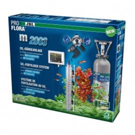 JBL ProFlora m2003 Bemestingsinstallatie: 2 kg fles met pH-controller