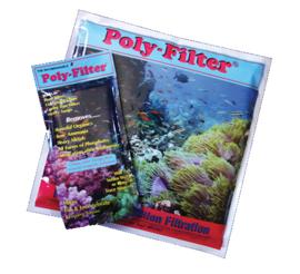 Poly filter - 10 cm x 15 cm