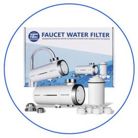Universele kraanwaterfilter met koolstof FH2018-1-AQ