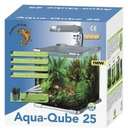 Super Fish  AQUA QUBE SET 25 liter zwart