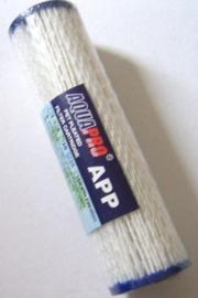 """Sedimentfilter  Aquapro  25 micron voor 10"""" filterhuis uitwasbaar"""