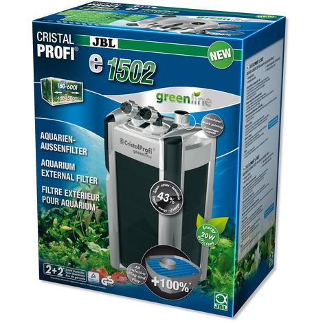 JBL CristalProfi e1502 greenline pour aquariums  de  200 - 700 litres